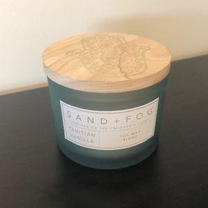 Sand + Fog tahitian vanilla candle - never used